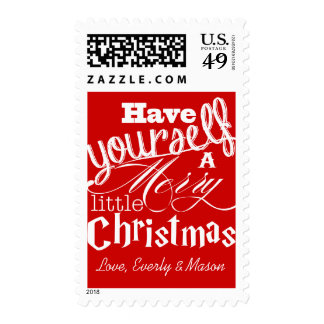 Have Yourself A Merry Little Christmas Stamps