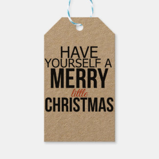 Have Yourself a Merry Little Christmas   Tags