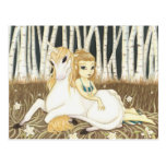 Haven- Fairy Unicorn postcard