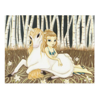 Haven- Fairy Unicorn postcard