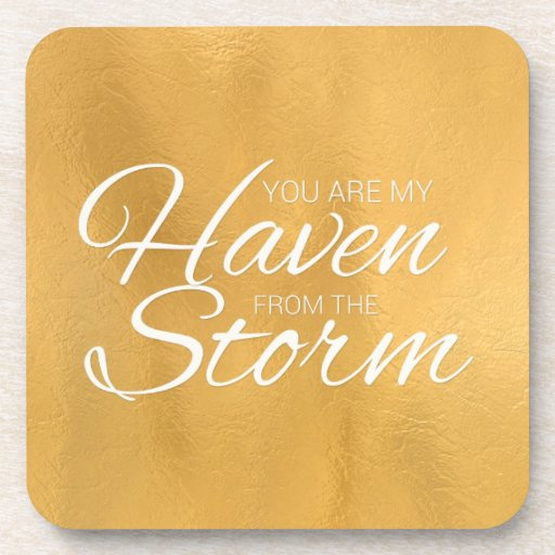 Haven from the Storm Beverage Coasters