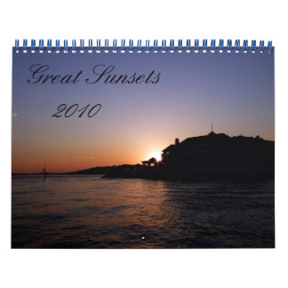 Haven Hotel, 2010, Great Sunsets Wall Calendars