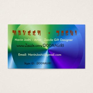 Havenly Blue  Card Templates - Designer Cards