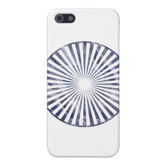 Havenly Chakra floral azul iPhone 5 Cobertura