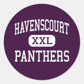 Havenscourt - Panthers - Junior - Oakland Classic Round Sticker