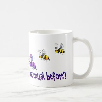 Haven't you ever seen a beesexual before mug