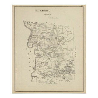 Haverhill, Grafton Co Poster