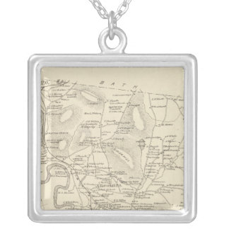 Haverhill, Grafton Co Silver Plated Necklace