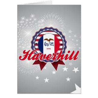 Haverhill, IA Greeting Card