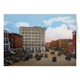 Haverhill Massachusetts Washington Square Greeting Card