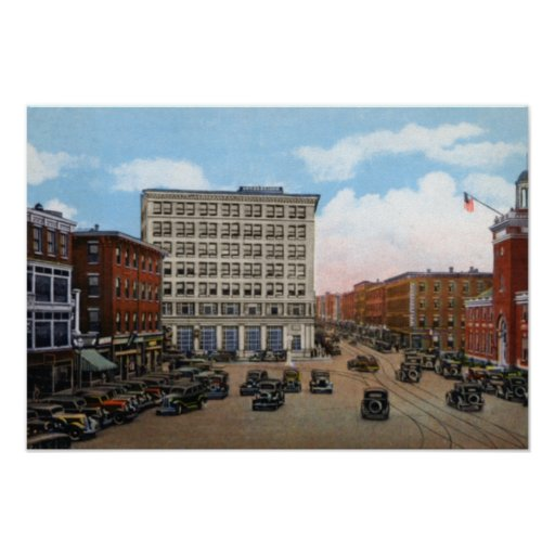 Haverhill Massachusetts Washington Square Posters