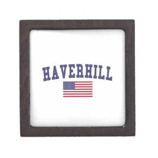 Haverhill US Flag Jewelry Box
