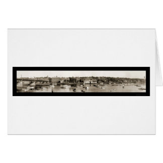 Haverhill Waterfront Photo 1910 Greeting Card