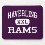 Haverling - Rams - High School - Bath New York Mouse Mat