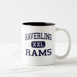 Haverling - Rams - High School - Bath New York Two-Tone Coffee Mug