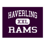Haverling - Rams - High School - Bath New York Post Cards