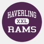 Haverling - Rams - High School - Bath New York Stickers
