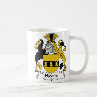 Havers Family Crest Classic White Coffee Mug