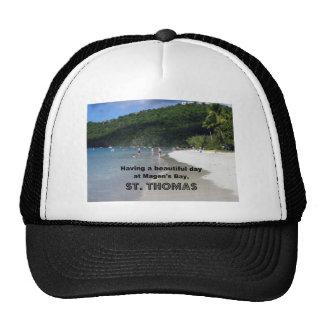 Having a beautiful day at Magen's Bay... Mesh Hats