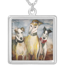 Having a Greyt Time at the Beach Silver Plated Necklace