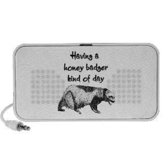 Having a honey badger kind of day mini speaker
