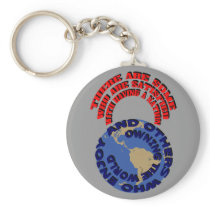 Having a Nation Owning the World Keychain