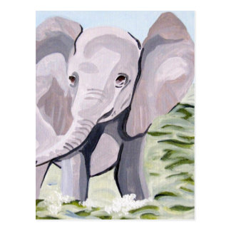 Having a Paddle (Acrylic Kimberly Turnbull Art) Postcard