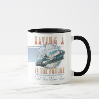 Having a Swell Time in the Future Mug