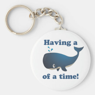 Having a Whale of a time! Keychain