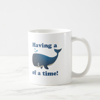 Having a Whale of a time Coffee Mugs