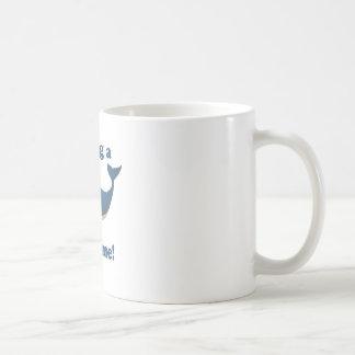 Having a Whale of a time Coffee Mug