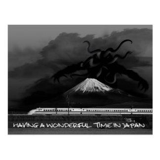 Having a wonderful time in Japan Postcard