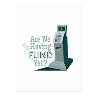 Having Fund? Postcard