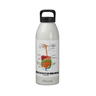 Having Lots Of Guts Is My Modus Operandi Reusable Water Bottles