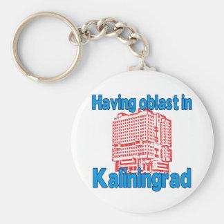 Having Oblast in Kaliningrad Basic Round Button Keychain