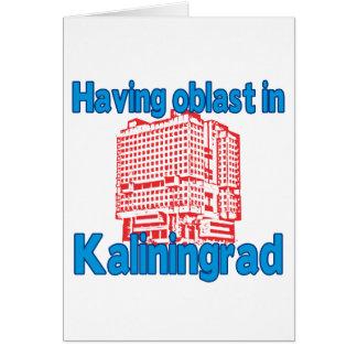 Having Oblast in Kaliningrad Card