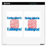 Having Oblast in Kaliningrad Decal For Kindle Fire