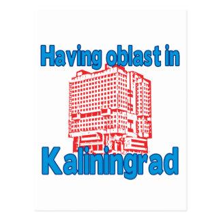 Having Oblast in Kaliningrad Postcard
