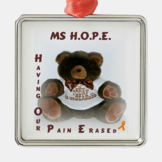 Having Our Pain Erased Metal Ornament