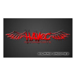 Havoc Motorsports (NM) Business Card
