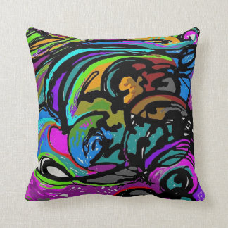 """Havoc"" Throw Pillow"
