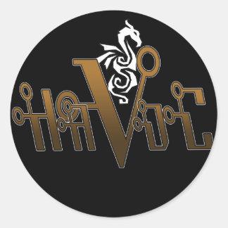HaVoC wht Dragon Stickers