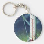 Havoline Thermometer Basic Round Button Keychain