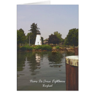 Havre De Grace Lighthouse Card