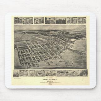 Havre De Grace, Maryland en 1907 Tapetes De Ratones