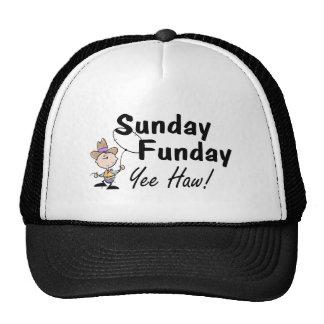 Haw de domingo Funday Yee Gorros Bordados