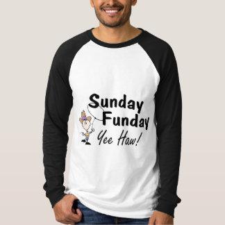 Haw de domingo Funday Yee Playera