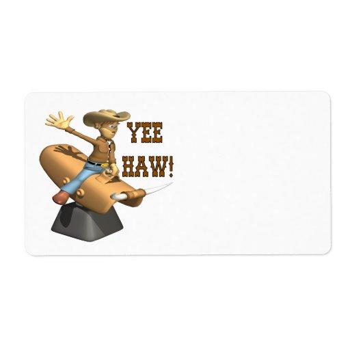 Haw de Yee Etiquetas De Envío