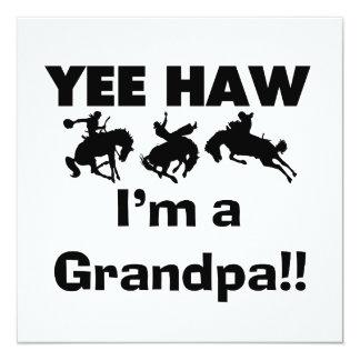 Haw de Yee soy camisetas y regalos de un abuelo Anuncio Personalizado