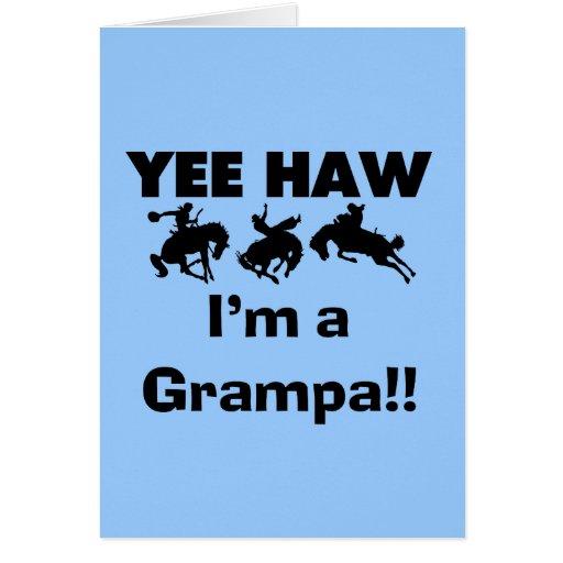 Haw de Yee soy camisetas y regalos de un Grampa Felicitación